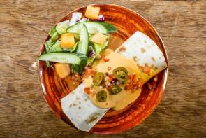 Burritos Chili con Vege