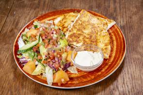 Quesadillas Chili con Vege