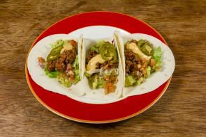 Soft Tacos Carne Con Cactus