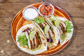 Soft Tacos Blackened Cajun -kanaa (L)