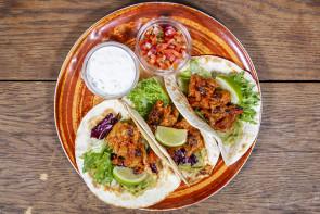 Soft Tacos Chili con Vege (L)