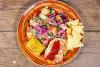 Chevre-salaatti (G)