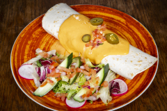 Burritos Chili con Nyhtökaura