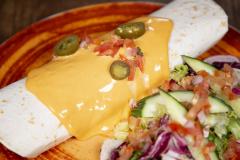 Burritos Chili con Pork ylikypsästä possun niskasta (PG)