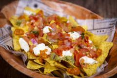Loaded mexican nachos