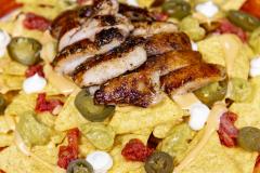 Nacho Plate Blackened Cajun -kana
