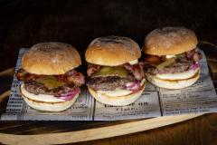 Panchon Miniburgerit, Sliderit, pekoni