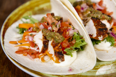 Soft Tacos Blackened maustettu -kana Express-annos