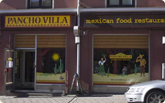 Ravintola Pancho Villa Turku - julkisivu ja sisäänkäynti