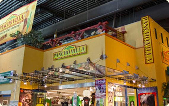 Ravintola Pancho Villa Lempäälä, Ideapark - julkisivu ja valomainokset