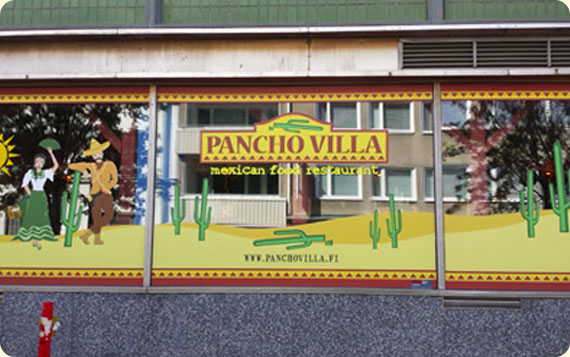 Ravintola Pancho Villa Oulu, Keskusta - julkisivu