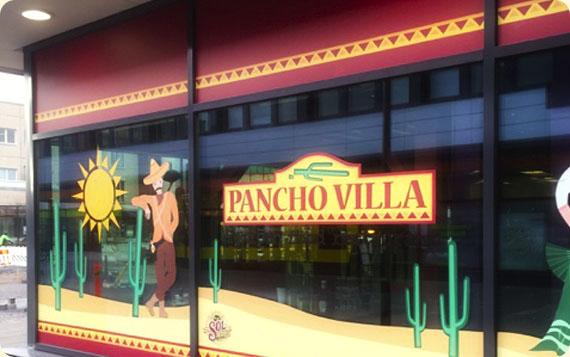 Ravintola Pancho Villa Raisio - julkisivu
