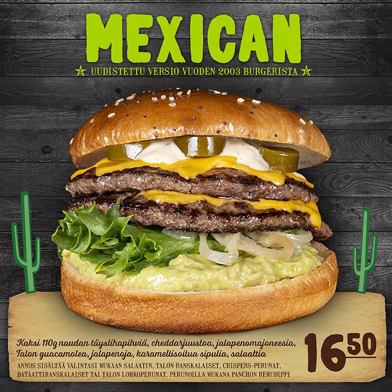 Mexican burger