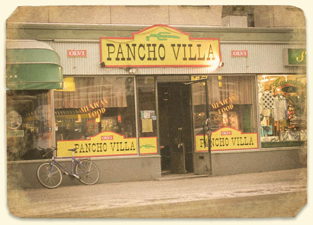 Vanha Pancho Villa ravintola Tampereen Tammelassa
